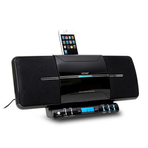ipod docking station with digital radio and cd player. Black Bedroom Furniture Sets. Home Design Ideas