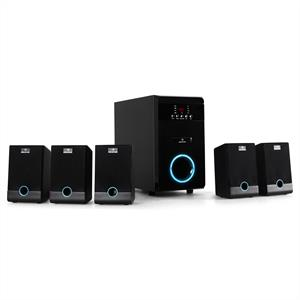 5.1 Auna Active Surround Speaker Set with 10