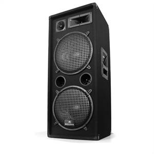Malone PW-2222 3 Way DJ PA Speakers 2 x 12