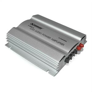 Cougar C300.4 4-Channel MOSFET Car Amplifier 1200W silver