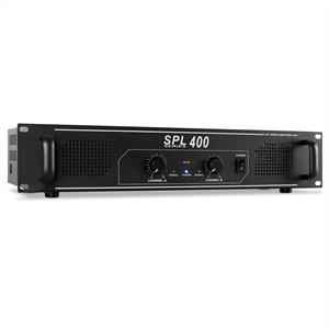 Skytec SPL400 Watt DJ PA Amplifier Hi-Fi Audio Amp