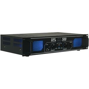 Skytec SPL500 Watt DJ PA Amplifier EQ Hi-Fi Audio Amp
