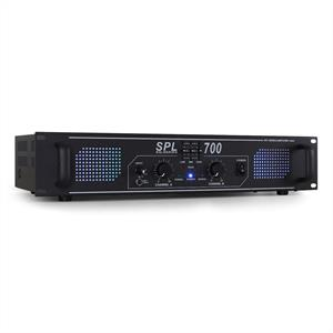 Skytec SPL700 Watt DJ PA Amplifier EQ Hi-Fi Audio Amp