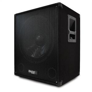 "Ibiza 15"" Active DJ PA Subwoofer Speaker 400W RMS - 800W Max"