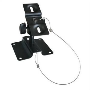 Black universal Speaker wall/ceiling mounting bracket -15kg load