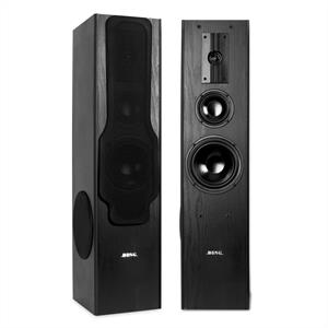 Beng 3 Way Tower Speakers Floor Standing 360W Full Range Pair