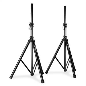 Pair Skytec Tripod PA Speaker Stands with bag 30kg load each