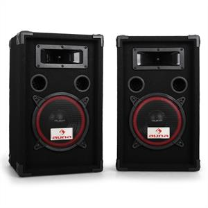 "Pair Auna 8"" Passive PA Speakers -1000W Max"