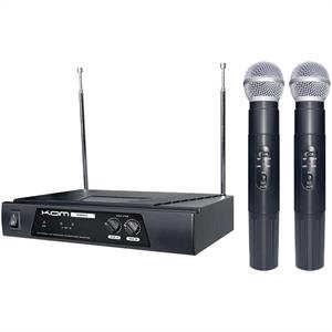 KAM KWM11 173.8 175MHz VHF Wireless Microphone Set