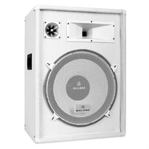 "Auna PW-1522 3-Way DJ PA Speaker 15"" 800W - White"