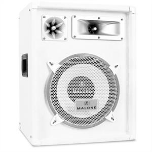 Auna PW-1022 3-Way DJ PA Speaker 10&quot; 400W - White