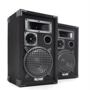 "Hollywood DJ-Pro-8 DJ PA Speaker Pair 8"" Inch"