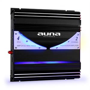 Auna AMP-CH02 2 Channel Car Hifi Amplifier1400W