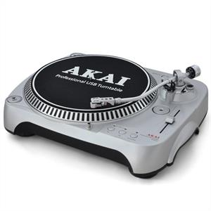 Akai ATT002 DJ Turntable - Single Deck with USB MP3