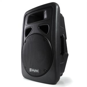 "Skytec 12"" Active DJ PA Powered Speaker 600W Max"