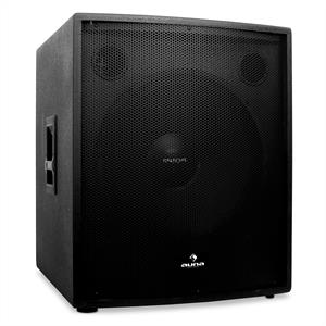 "Auna PW-18A-M DJ PA Speaker Active Subwoofer 18""  1250W RMS"