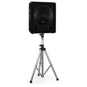 Malone Tripod Speaker Stand for PA Speakers 25kg Load - Silver