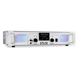Skytec SPL-700-MP3 DJ PA HiFi Amplifier USB SD Radio 700W