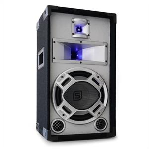 "Skytec 10"" Passive DJ PA Speaker White with Blue LEDs - 400W"