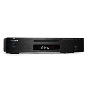 Auna AV2-CD509 CD Player Radio Receiver USB MP3 Black