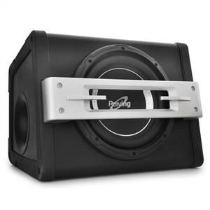 "Peiying BA250X Active Car Audio Subwoofer 10"" 400W"