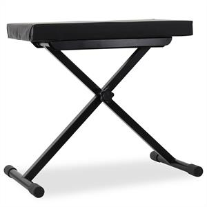 Auna Keyboard Stool Height Adjustable Piano Bench