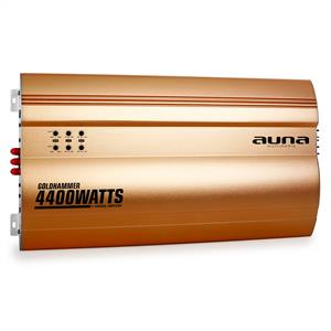 Auna Goldhammer 4-Channel Car Amplifier 4400W