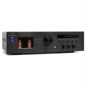 Auna Tube 65 HiFi Stereo Tube Amplifier MP3 USB Receiver 600W