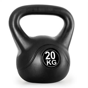 Klarfit Kettlebell 20kg Training & Fitness Weight - Black