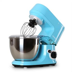 Klarstein Carina Azzura Food Processor Mixer 800W 4L Blue