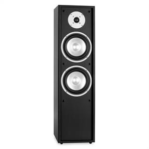 Auna Line 300-BL 2-Way Passive Hi-Fi Tower Speaker 160W Black