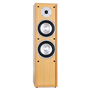 Auna Line 300-BH 2-Way Passive Hi-Fi Tower Speaker 160W Beech