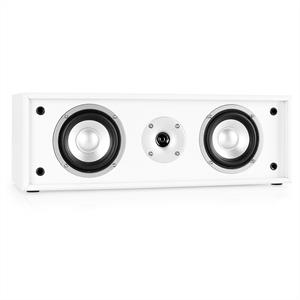 Auna Line 300-CN-WH 2-Way Passive Centre Speaker 76W - White