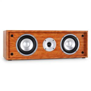 Auna Line 300-CN-WN 2-Way Passive Centre Speaker 76W - Walnut