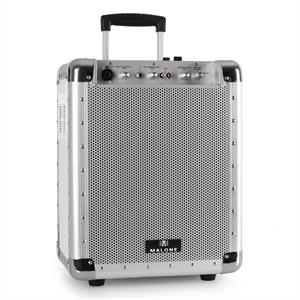 Malone PAS1 Streetrocker Portable Active PA System USB SD AUX Bluetooth White