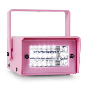 OneConcept Mini LED Strobe Light Pink