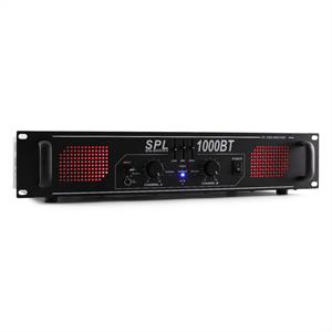 Skytec SPL 1000BT PA Amplifier Bluetooth AUX EQ 1000W