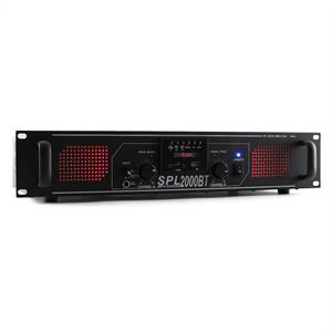Skytec SPL 2000BT HiFi PA Amplifier System Bluetooth USB SD MP3
