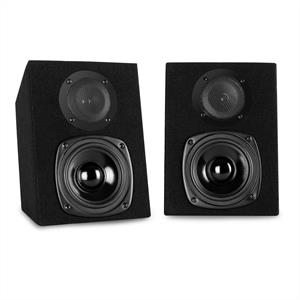 Auna ST-2000 Passive Speakers Pair 40W Black
