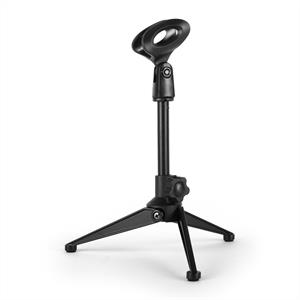 Malone ST-4-TAB Table Stand with Microphone Clamp Black
