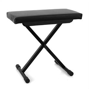 Malone Piano Stool Adjustable Height Black