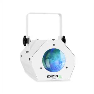Ibiza LCM003LED Disco Light LED Moonflower RGBWA