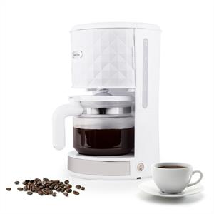 Klarstein Granada Bianca Coffee Machine 1.25 Liters 1000W White