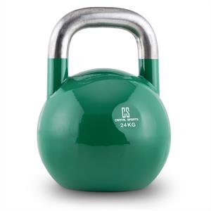Capital Sports Compket 24 Steel Competition Kettlebell 24 kg Green