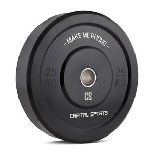 Capital Sports Bumpee 25 Bumper Plate Weight Plate Rubber 25kg