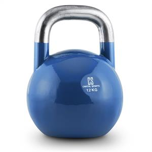 Capital Sports Compket 12 Steel Competition Kettlebell 12 kg Blue