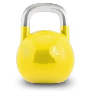 Capital Sports Compket 16 Steel Competition Kettlebell 16 kg Yellow