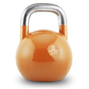 Capital Sports Compket 28 Steel Competition Kettlebell 28 kg Orange