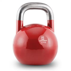 Capital Sports Compket 32 Steel Competition Kettlebell 32 kg Red