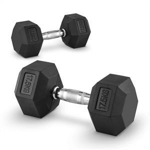 Capital Sports Hexbell 17.5 Dumbbell 17.5 kg